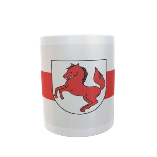 U24 Tasse Kaffeebecher Mug Cup Flagge Schortens