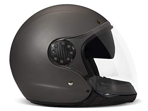 DMD A.S.R Modular Helm Jethelm Motorradhelm Integralhelm P/J geprüft, MATT GREY, XL