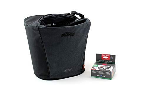 KTM Fahrradtasche Gepäckträgertasche grau/schwarz klick Fix e-Bike 18 Liter