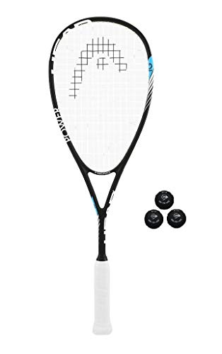 Head IG Power Raqueta de Squash + 3 Balls