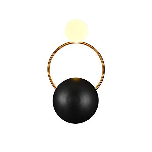 Preisvergleich Produktbild ETH Einfache Geführte Wohnzimmer-Wand-Lampe / Schlafzimmer-Nachttischlampe / Kreative Gang-Hotel-Ausstellungs-Hallenkorridor-Beleuchtung Hell