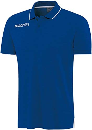 Macron Zouk Polo pour homme, bleu/blanc, xl