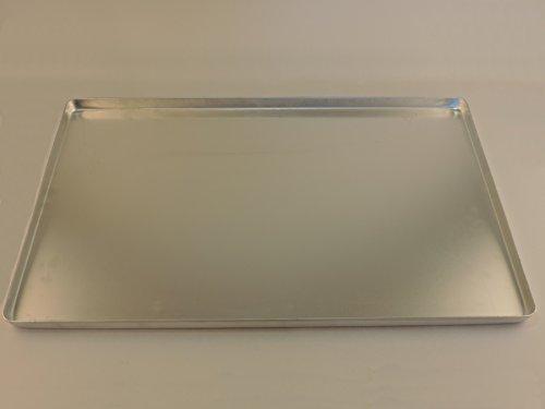 Veteranicar Tropfblech Ölauffangwanne ca.59x39x1,9cm Aluminium Silber