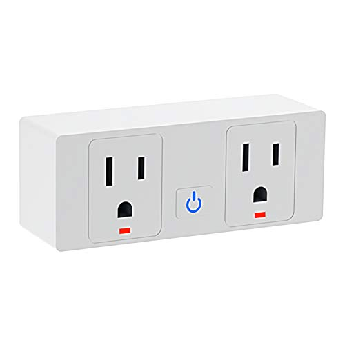 Jinvoo Wifi Smart Plug, Smart Plug Outlet App Remote Control Your Devices ,Timer Switch,Voice...
