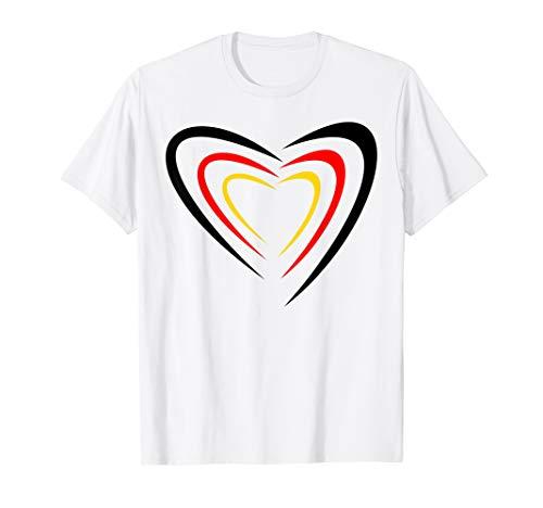 Deutschland Tshirt Handball und Fussball Fans