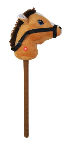 26 Inch Hobby Horse with Sound 4 Colours Available (HL63) (BROWN)