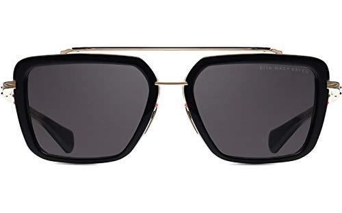 Dita Mach Seven DTS135 - Gafas de sol con montura en color negro y dorado con lentes en gris oscuro