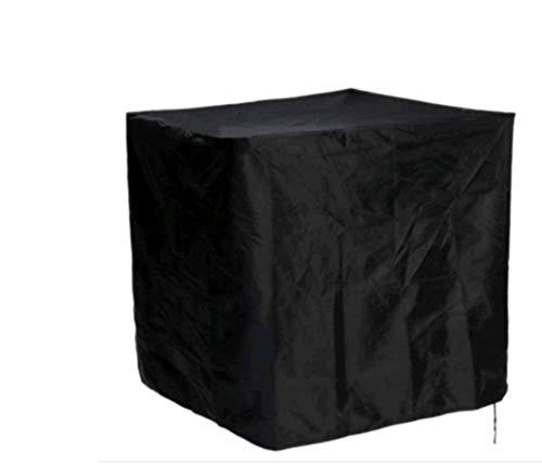 Grantien Rechteckig Grillabdeckung,Gartenmöbel Abdeckhaube,Wasserdicht Grill Schutzhuelle Haube,210D Oxford Schwarz 68 * 72cm