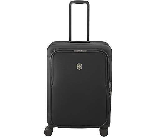 Victorinox Connex Softside Spinner Luggage, Black, Checked-Medium (26')