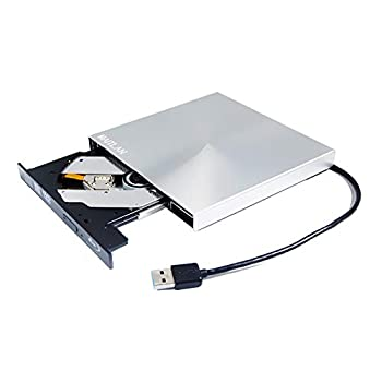 External 6X Blu-Ray BD-RE Burner USB-C 8X DL SuperDrive for Apple MacBook Air 2017 A1466 MQD32LL/A A1534 MNYG2LL/A MNYF2LL/A 12 13 Inch Laptop 3D Blue-ray Portable DVD CD Player Drive