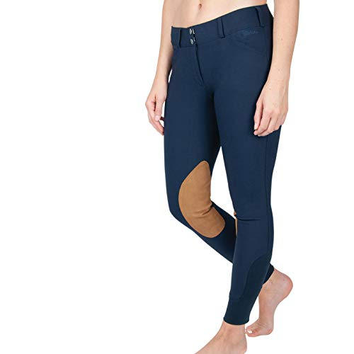 ELATION Show Breeches–Breeches for Incredible Performance Breeches(Navy, 26R)