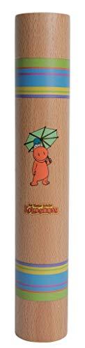 Dragón Coco palo de lluvia de madera 26cm