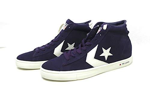CONVERSE 166394C Zapatos de garceta Azul obsidiana para Hombre con Cordones Medios de Ante
