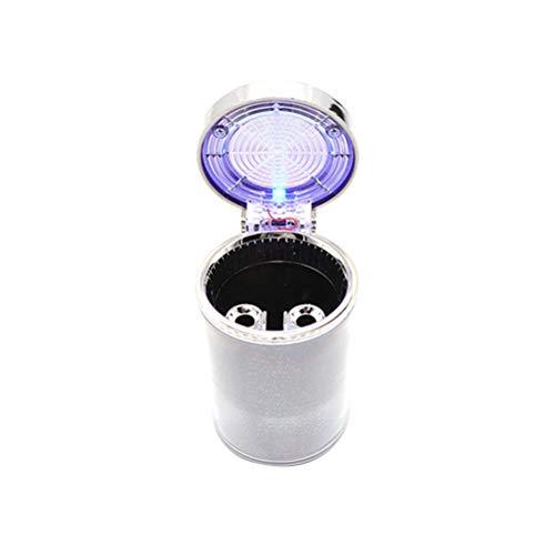 Coche con luz LED Colorida Portátil Cigarrillo Sin Humo Copa YXF99