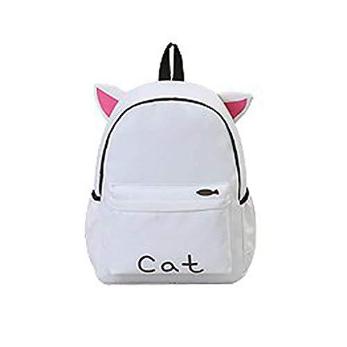 Best Bargain New Fashion Women's Portable Backpack Casual Wild Cute Rabbit Ear Bear Backpack