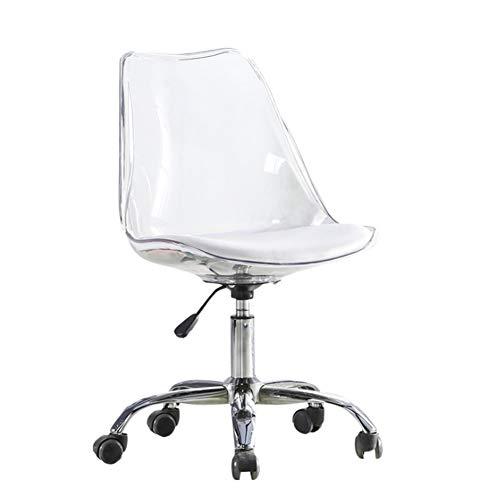 Simple giratoria Silla de Oficina y Pequeño Transparente Ascensor Estudio Oficina sillón rotatorio