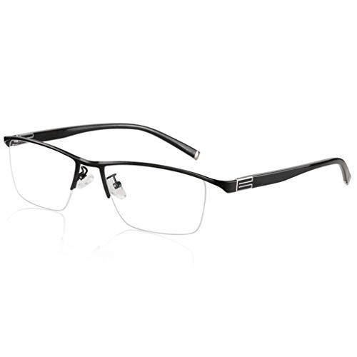 SLRMKK Half-Frame Fashion Lesebrille, Transition Photochromic Progressive Multi Focus Sonnenbrille, Far und Near Dual-Use Outdoor Color Change, Für Herren