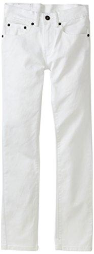 Levi's Boys' Big 510 Super Skinny Fit Jeans, White, 12