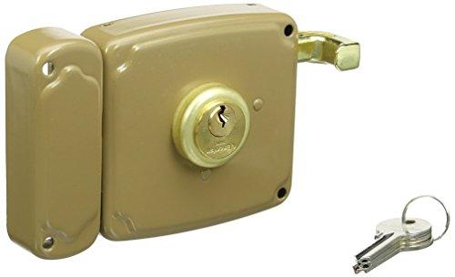 Cofan 14940100D Cerradura sobreponer con cerradero Derecha, 100 mm