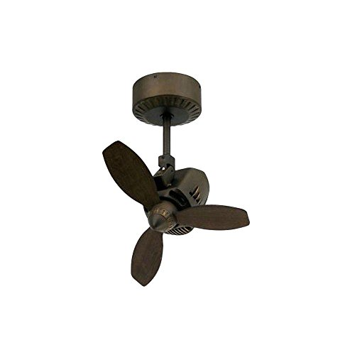 "TroposAir Mustang 18"" Oscillating Indoor/Outdoor Ceiling Fan in Rubbed Bronze"