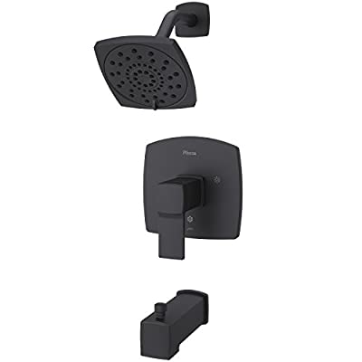 Pfister LG89-8DAB Deckard Tub and Shower Trim, Matte Black