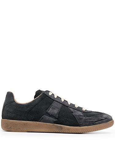 Maison Margiela Luxury Fashion Uomo S57WS0382P4016T8013 Nero Pelle Sneakers | Ss21