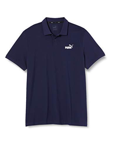 PUMA Ess Pique Polo, Maglietta Uomo, Blu (Peacoat/Cat), XXL