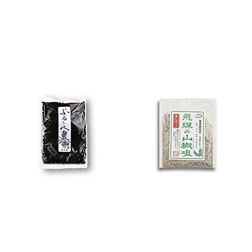 [2点セット] 野生種ぶるぅべりぃ(260g)・手造り 飛騨の山椒塩(40g)