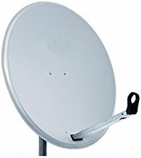 HD-LINE PRO - Antena parabólico de 65 cm, color blanco, para ...