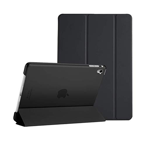 Smart Magnetic Case for Apple iPad Air (1st Generation) 2013 A1474 A1475 A1476 Stand Cover with Automatic Wake/Sleep (Black)