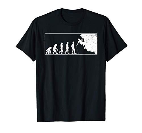 Escalador de rocas ropa hombres mujeres niños escalada en Camiseta