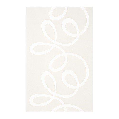 Ikea BLABUSKE Schiebegardine in weiß; (60x300cm)