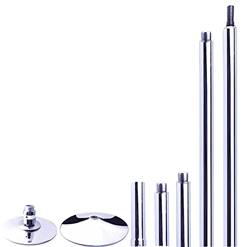 zmtzl Pole Dancing Pole 45mm Spinning & Static - Portable Fitness Exercise Stripper Professional Pole Dancing Kit for Lap Dance Steel Capacity 90kg Portable Fitness Pole