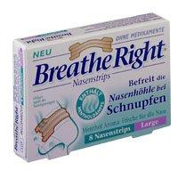 BREATHE Right neusstrips menthol large, 8 st