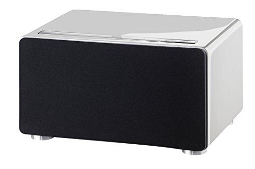 Heco 1376303 Ascada 300 BTX weiß - Vollwertiges Bluetooth Stereo Lautsprechersystem mit eingebautem Subwoofer und aptx