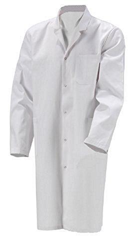 Herren Laborkittel M Unisize 2te Wahl Baumwolle weiß Labor Kittel Mantel S-XXL
