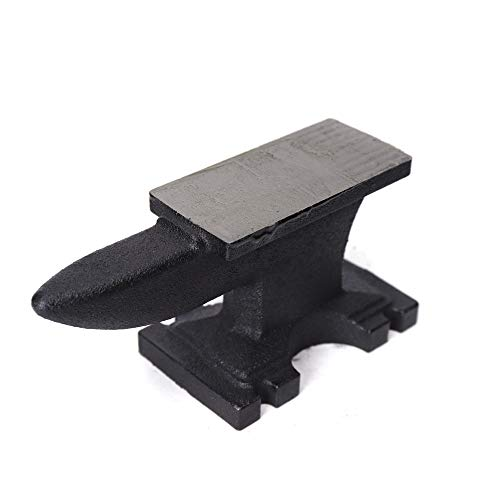 yunque forjado de yunque de 5 kg, 11 kg, 25 kg, de hierro fundido, herramienta de forjado para herrería, batería, reloj, mesa de sujeción