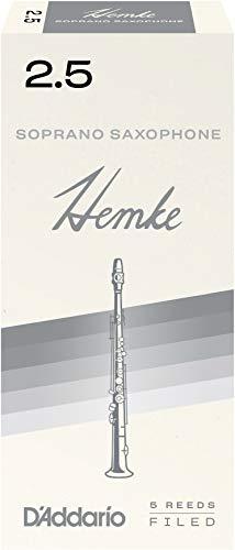 Frederick L. Hemke Blätter für Sopransaxophon Stärke 2.5 (5 Stück)