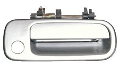 Eynpire 8058 Exterior Outside Outer Front Right Passenger Side Door Handle For 1992 1993 1994 1995 1996 Toyota Camry SILVER