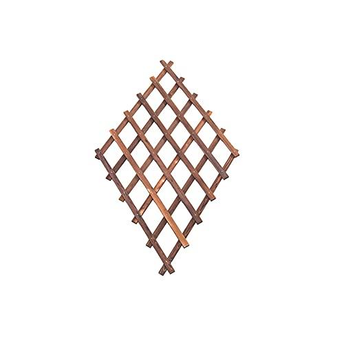 Macetero de pared de celosía de madera, marco de enrejado d