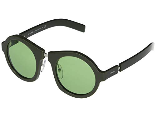 Prada 0PR 10XS Gafas de sol, Green, 40 para Mujer