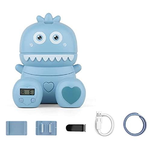 Ventilador portátil de muñeca Ventilador portátil de 3 velocidades de Viento Ventilador de Mano Tipo Monstruos de Dibujos Animados Ventilador Personal Recargable Ventilador Personal Mini USB USB de