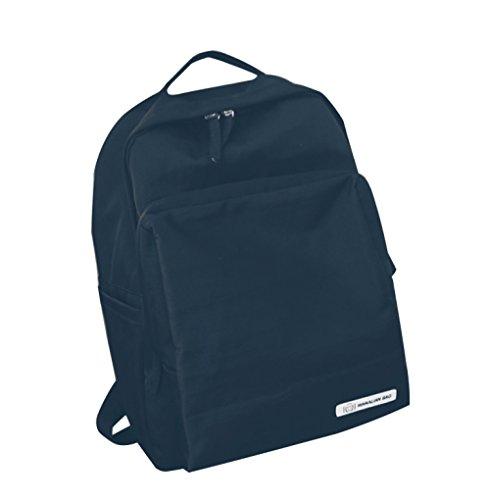 FLHT Mädchen Rucksack Campus Tasche Licht Große Kapazität Einfarbig Beliebten Stil Schultertasche Messenger Bag Brust Tasche,Black-OneSize