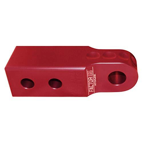 Factor 55 00020-01 HitchLink 2.0 Receiver Shackle Mount - Red