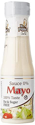 AMIX - Salsa 0 Calorías - Sauce 0% Amix - 250 ml - Sin Grasas - Aporta Sabor a tus Comidas - Sin Gluten - Sin Lactosa - Apto para Vegetarianos - Salsa sin Calorías - Sabor Mayonesa