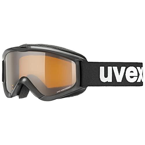 uvex Unisex Jugend, speedy pro Skibrille, black, one size