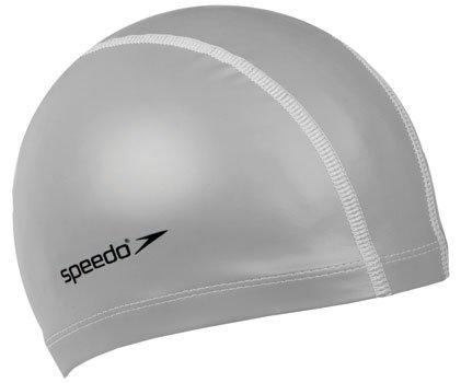 Speedo Unisex-Adult Pace Badekappe, Silber, Einheitsgröße
