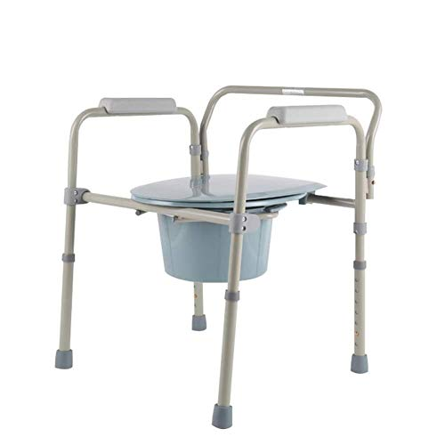 Bathroom Wheelchairs RRH Bedside Commodes Adjustable freestanding Toilet seat Commode Chair pad for Elderly Portable Potty