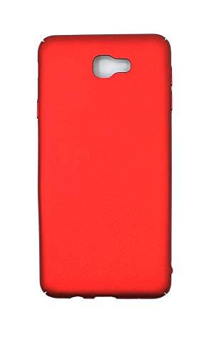 stengh Carcasa rígida para Samsung SM-A720F/DS Galaxy A7 2017 Duos/SM-A720F SM-A720S Galaxy A7 2017, color rojo