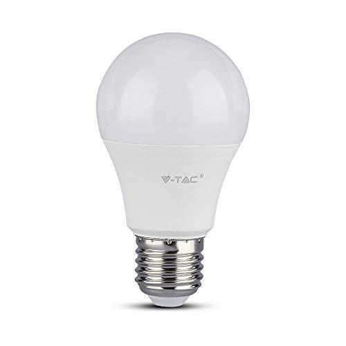 Bombilla LED de 9 W, bulb A58 chip Samsung Pro casquillo E27, 4000 K